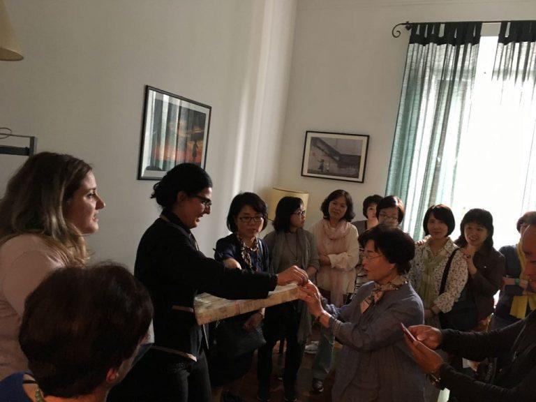 Riconoscimento conferito dalla delegazione coreana